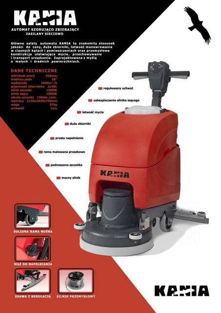 Karta ofertowa maszyny do mycia posadzek Numatic ET4045 Kania