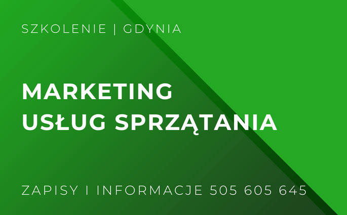 marketing uslug sprzatania